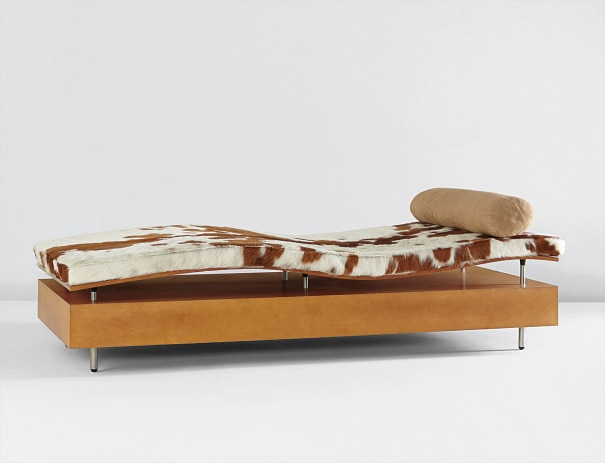 """Longitude Chaise,"" from the ""Earth is (Not) Flat"" series"