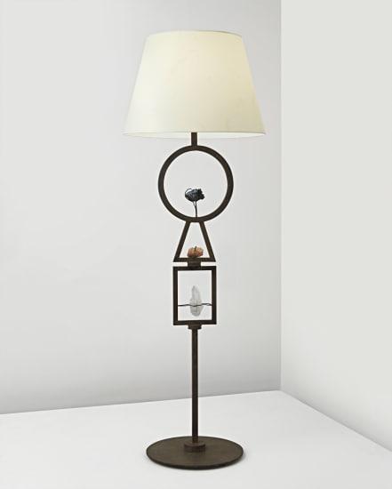 Marc Du Plantier Unique Floor Lamp Circa 1950 Phillips