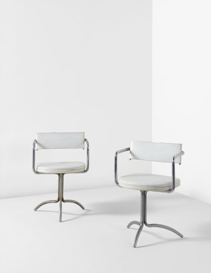 Frederick John Kiesler - Pair of armchairs, designed for Charles and
