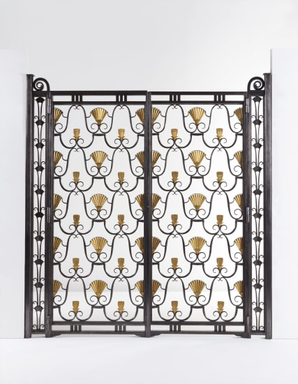 Swell Edgar Brandt Pair Of Gates From The Pavillon De L Ibusinesslaw Wood Chair Design Ideas Ibusinesslaworg