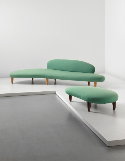 Rare Cloud Form Sofa Model No In 70 And