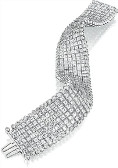 An Impressive Diamond Bracelet