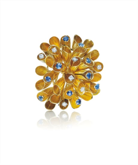 Impressive 1960/'s Brooch-6 34 Inches in Length