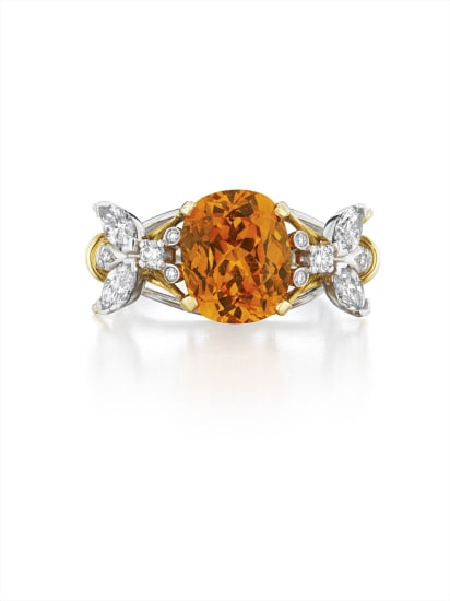 73e4db3a9 Schlumberger for Tiffany & Co. - A Spessartite Garnet and Diamond ...