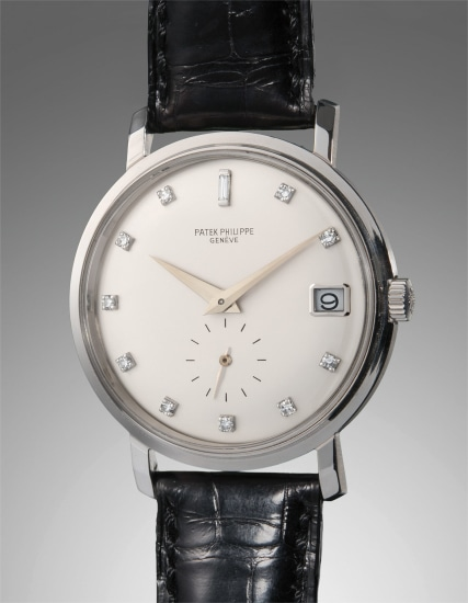 Phillips | Patek Philippe - A very rare and fine white ...