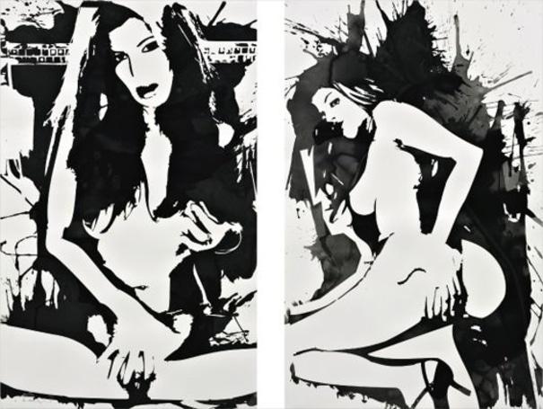 Two works: La Sainte Vierge