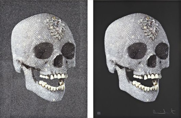 Two works:  (i) For the Love of God, Laugh; (ii) The Diamond Skull