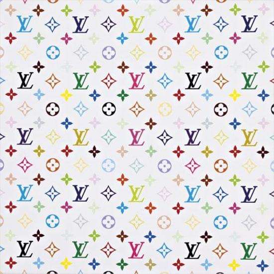Monogram Multicolore -white