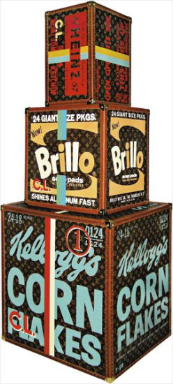 Stacked (LV Heinz, Brillo and Kellogg's Boxes)