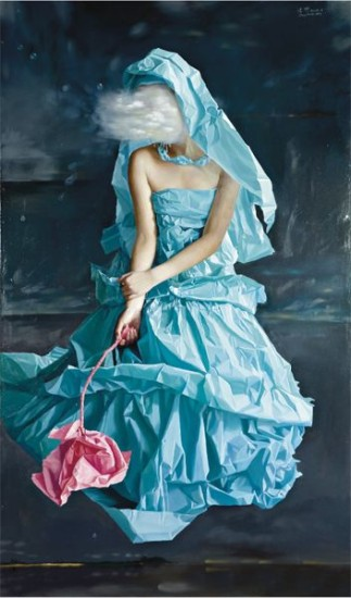 Blue Paper Bride-Dream