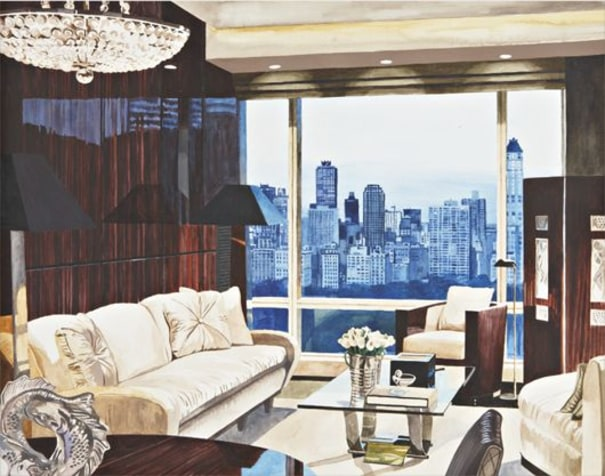 My Houses: Penthouse Living Room With View Of Central Park South