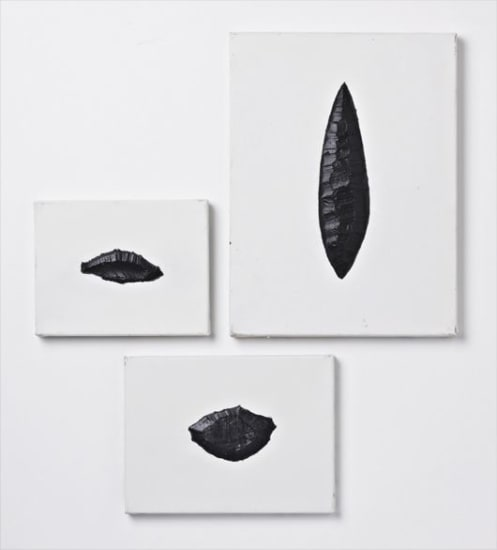 Three works: #18, #19, #22  from Museum series