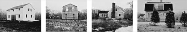 House no 2; House no 3; House no 4; House no 5 from American Gothic