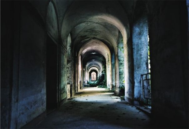 Untitled (Blue Corridor) from Crazy God
