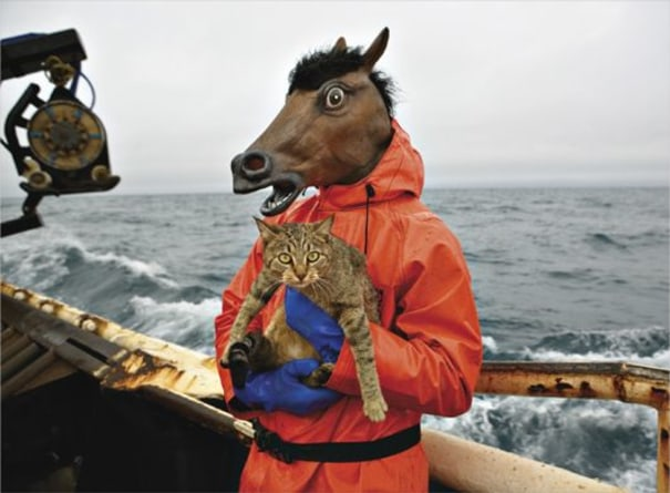 Kitty and Horse Fisherman from Fish-Work