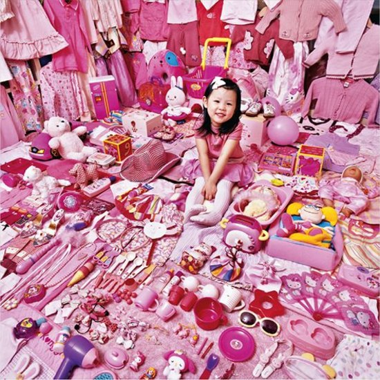 Seohyun and Her Pink Things from The Pink Project