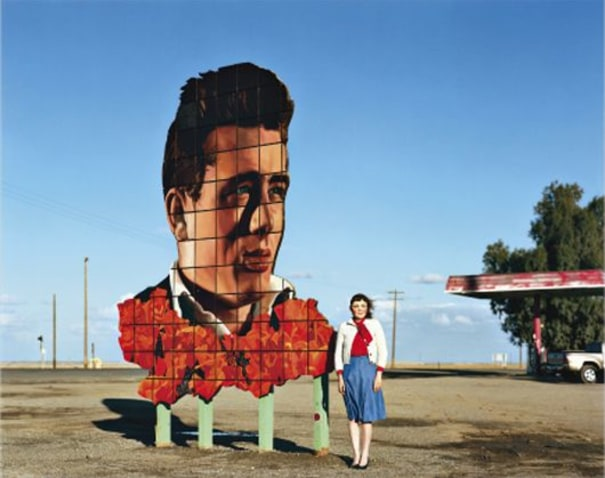 James Dean's Last Stop, Lost Hills, CA from Life with Maggie