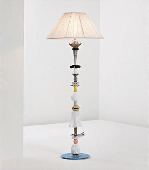 Unique 'Freeze' standard lamp