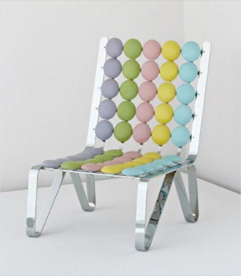 'Smarties Geometries' chair