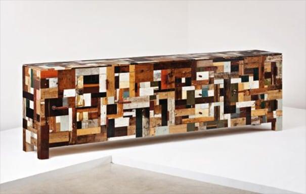 'Scrap Wood' cabinet