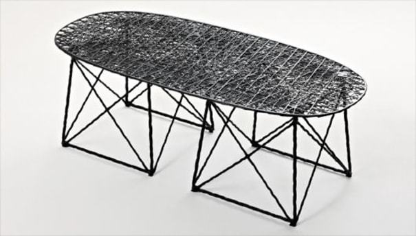 'Carbon' coffee table/bench