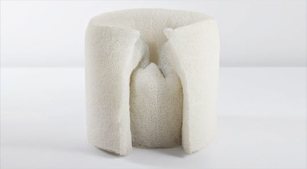 A prototype 'Pane' chair