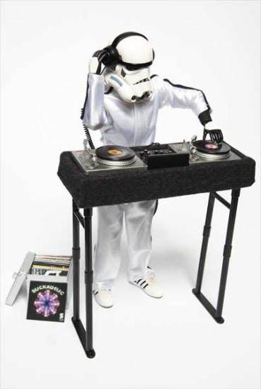 Custom-styled DJ Trooper produced by Medicom