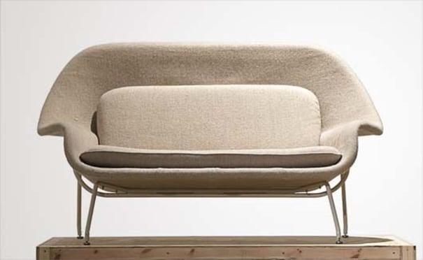 Eero Saarinen Womb 70 Sofa Designed 1948 Phillips