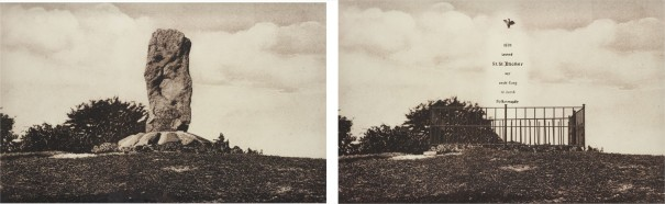 Pre and Post (diptych)
