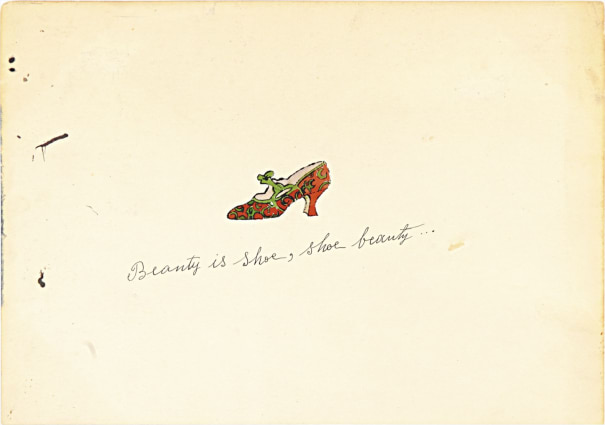 Beauty is shoe, shoe beauty