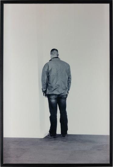 Person Facing into a Corner