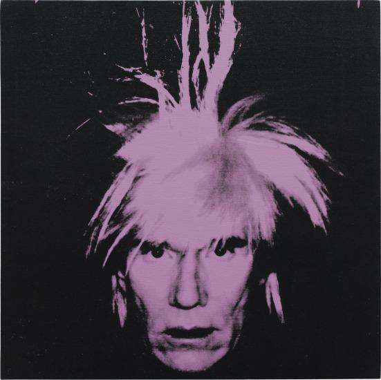 Image result for Warhol self portrait