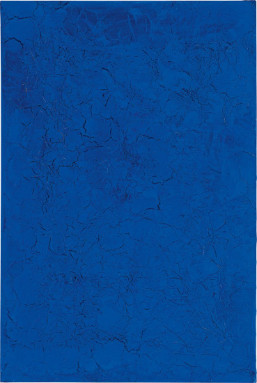 Untitled (Blue Monochrome)