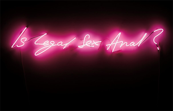Tracey Emin Is Legal Sex Anal 1998 Phillips