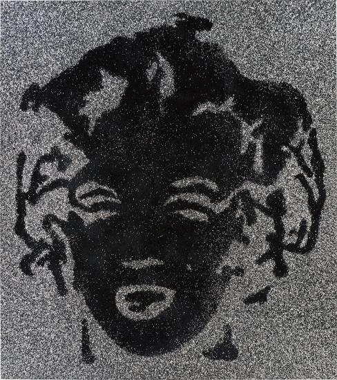 Reversal Black Marilyn