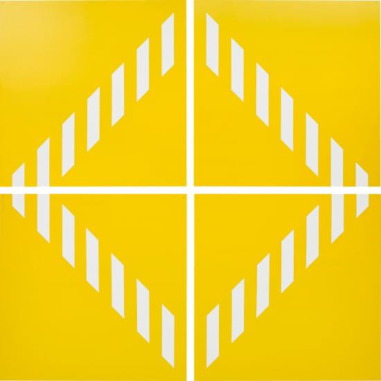 PVC giallo − Quatre éléments. travail situé