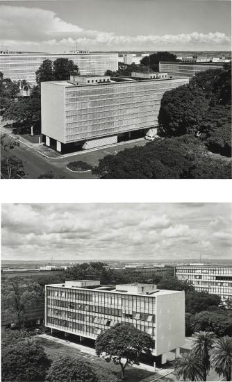 Super Quadra Sul 308 - Bloco 'D' - Asa Sul (south wing) - 70.355 - BRASILIA-DF - Lucio Costa, Oscar Niemeyer, 1960 - January 31, 1997 (No.1 - 2)