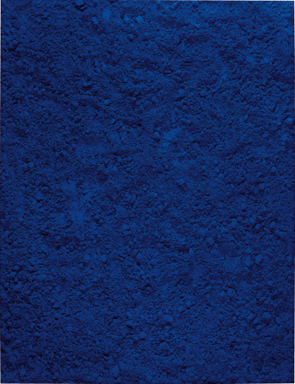 Untitled Blue, after Yves Klein (Pictures of Pigment)