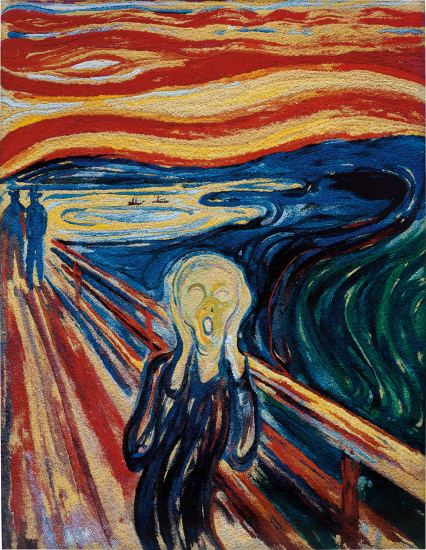 The Scream, after Edvard Munch (Pictures of Pigment)