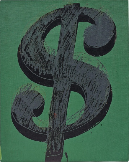 Andy Warhol Dollar Sign Phillips