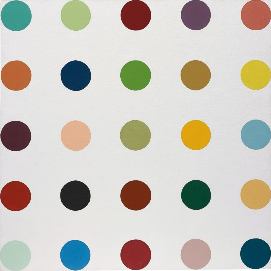 Damien Hirst Untitled 2 Spot Painting Phillips