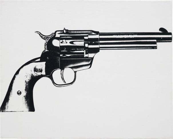 Gun (Cowboy six shooter)