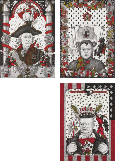 Three works: Untitled from the series Chiefs