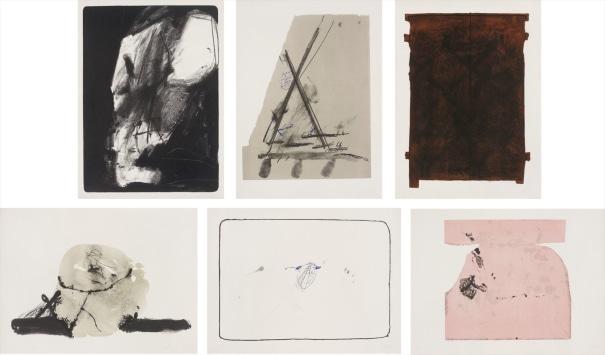 St. Gallen Album: six plates