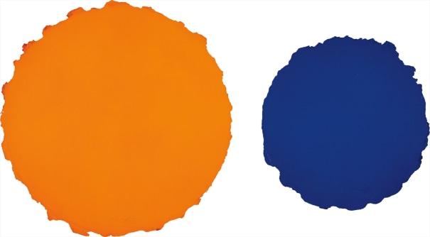 Guggenheim Tondo: two works