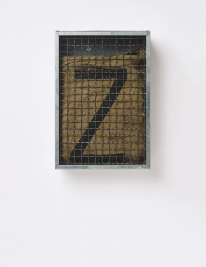 Untitled (Sack with Z)