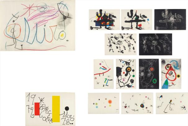 Barcelona Miró 1972-73
