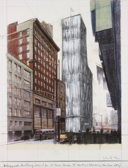 Wrapped Building, Project for #1 Times Square