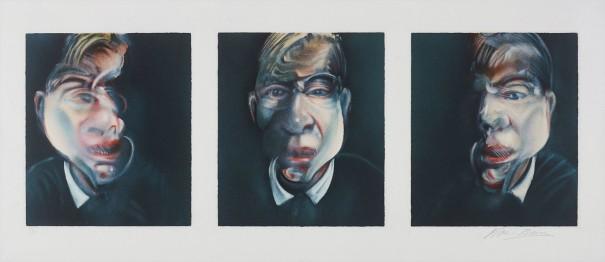 Trois études pour un autoportrait (after, Three Studies for a Self-Portrait, 1979)
