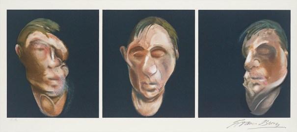 Trois études pour un autoportrait (after, Three Studies for a Self-Portrait 1983)